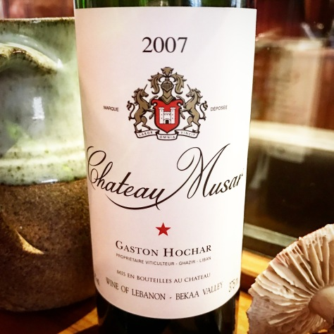 2007 Chateau Musar Lebanon Wine 5 North Street Winchcombe Cotswolds England United Kingdom Great Britain Sunday Lunch One Michelin Star