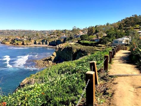 Coast Walk Trail La Jolla California San Diego Ocean Beach Hiking