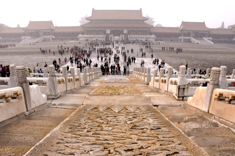 The Forbidden City Beijing China Ancient Imperial Palace Qing Dynasty World Heritage Site