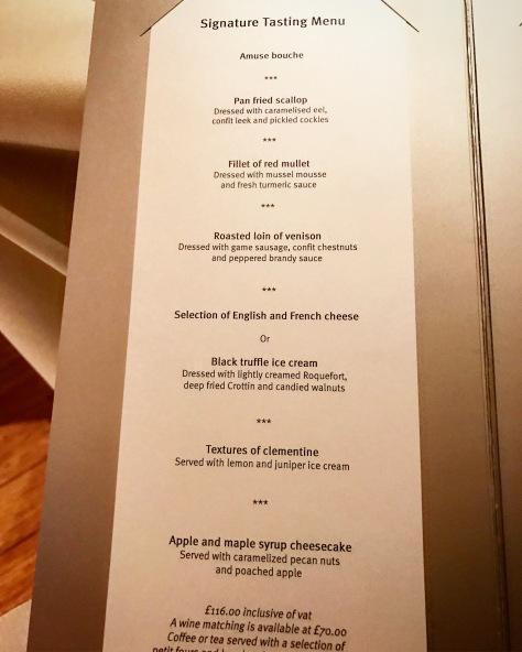 Whatley Manor Signature Tasting Menu Two Michelin Stars Easton Grey Malmesbury Cotswolds England United Kingdom Great Britain Fine Dining