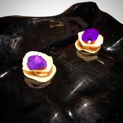 Amazake Liver Twelfth Course Gaggan Restaurant Bangkok Thailand Asia's 50 Best World's 50 Best Fine Dining Tasting Menu Sake Emoji Food Courses Progressive Indian Cuisine