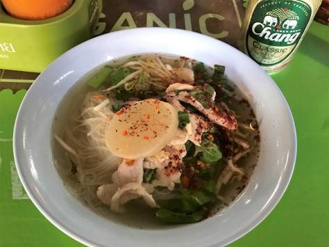 Long Lex Noodle Ayutthaya Lunglek Boat Noodles Pork Noodle Soup Street Food Thailand