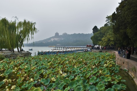 Summer Palace Lake Boat Ride Beijing China Asia Travel Tourist Attraction