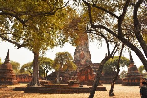 Wat Phra Ram Ruins Ayutthaya World Heritage Site Thailand Travel Tourist Attraction