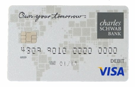 Charles Schwab Investor Checking Debit Card