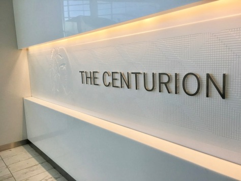 American Express Centurion Lounge DFW Airport