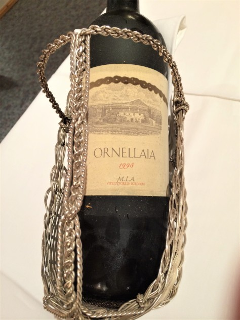 1998 Ornellaia Bolgheri Wine Bottle Homann's Gourmet-Restaurant Review Samnaun Switzerland Hotel Homann Michelin Guide Switzerland Two Michelin Stars Fine Dining Luxury Travel